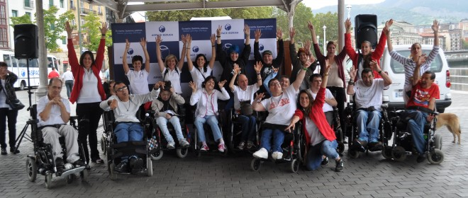 FlashMob Día Mundial de la Parálisis Cerebral