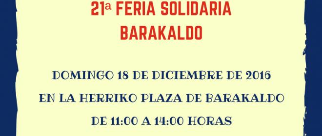 AzokAspace en la Feria Solidaria de Barakaldo