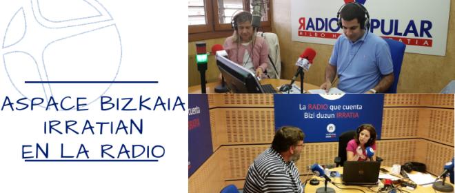 Aspace Bizkaia en la radio