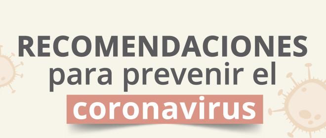 Recomendaciones para prevenir el coronavirus del Gobierno Vasco