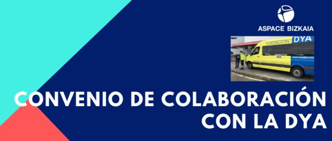Aspace Bizkaia y la DYA han firmado un convenio de colaboración para el traslado de personas usuarias con síntomas de COVID-19