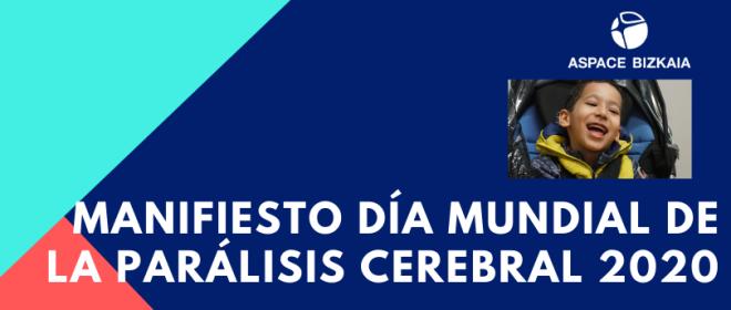 Manifiesto Día Mundial de la Parálisis Cerebral 2020