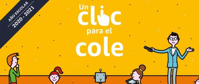 """C.P.E.E. Zabaloetxe Goikoa y C.P.E.E. Elguero participan en la campaña solidaria """"Un click para el cole"""" de Amazon"""