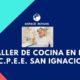 Taller de cocina en el C.P.E.E. San Ignacio