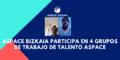 Aspace Bizkaia participa en 4 grupos de trabajo de Talento Aspace