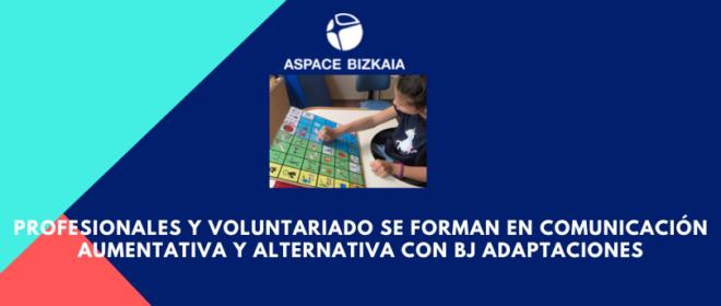 Profesionales y voluntariado se forman en comunicación aumentativa y alternativa con BJ Adaptaciones