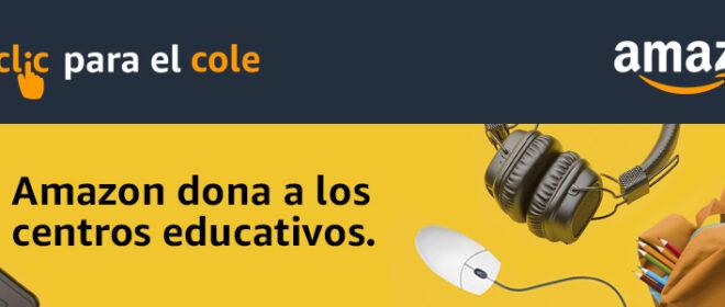 Nueva campaña «Un clic para el cole» de Amazon