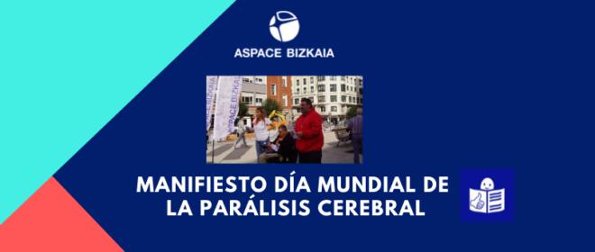 Manifiesto Día Mundial de la Parálisis Cerebral